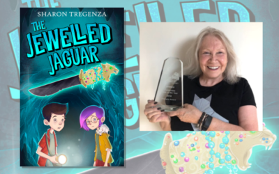 It's a hat trick for The Jewelled Jaguar by Sharon Tregenza