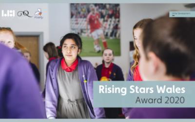 Inaugural Rising Stars Wales Award 2020