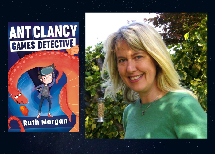 Q & A with Ant Clancy Games Detective author Ruth Morgan