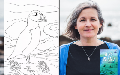 Elen's Island by Eloise Williams: Colouring Sheets