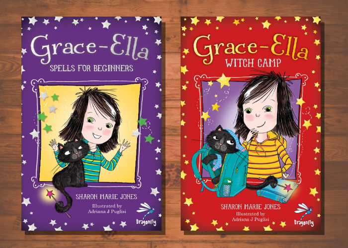 Grace-Ella Series: Lesson plans by Sharon Marie Jones (Years 2-4)