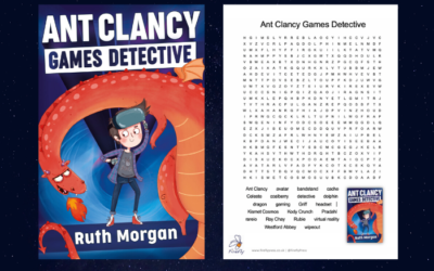 Ant Clancy Games Detective by Ruth Morgan: Wordsearch