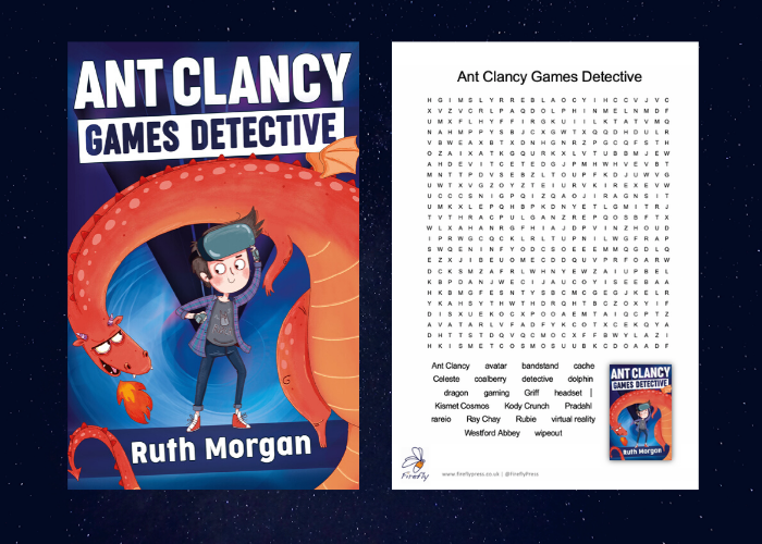 Ant Clancy Games Detective by Ruth Morgan: Resources