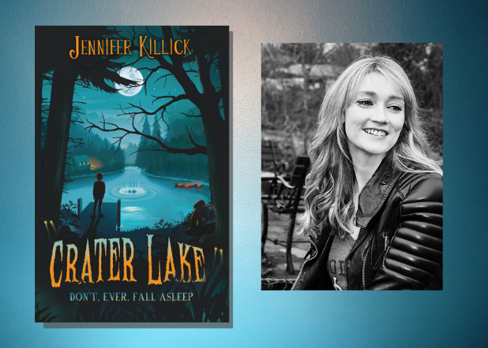 Firefly signs second Crater Lake book from Jennifer Killick