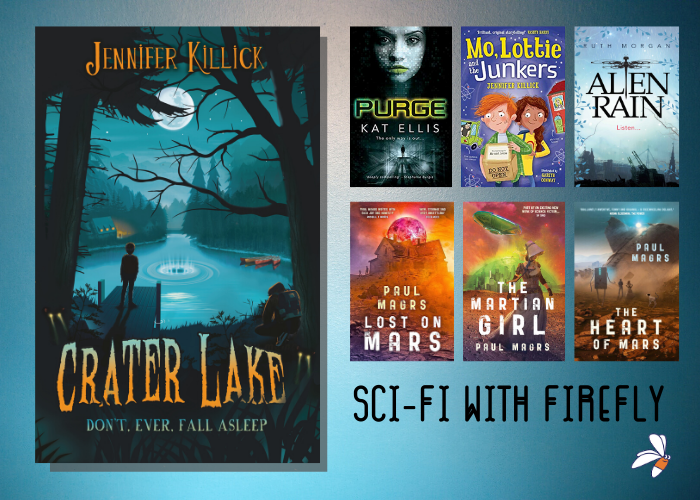 To celebrate Crater Lake, Leonie looks back at sci-fi with Firefly