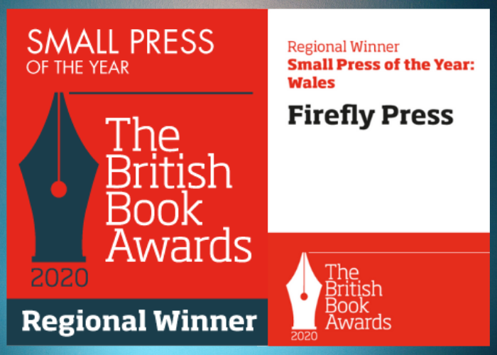 We've won! Firefly named Small Press of the Year: Wales 2020
