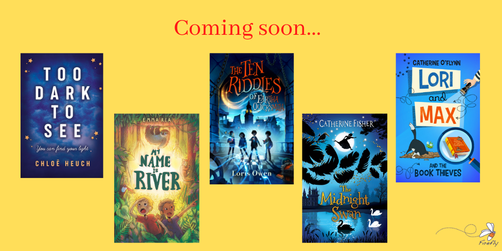 Upcoming Titles Flying in from Firefly Press
