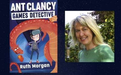 Author reading: Ant Clancy Games Detective by Ruth Morgan