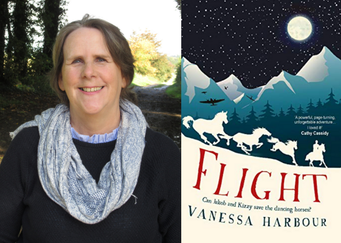 Firefly signs sequel to WWII middle-grade Flight by Vanessa Harbour