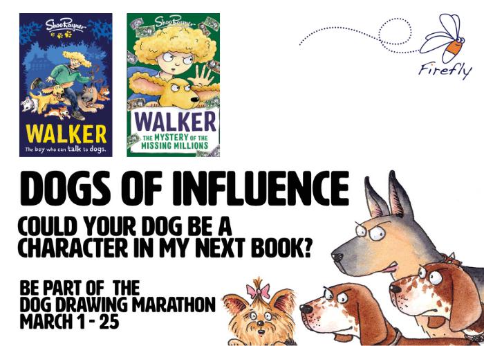 Immortalise your dog with Shoo Rayner's Dog Drawing Marathon