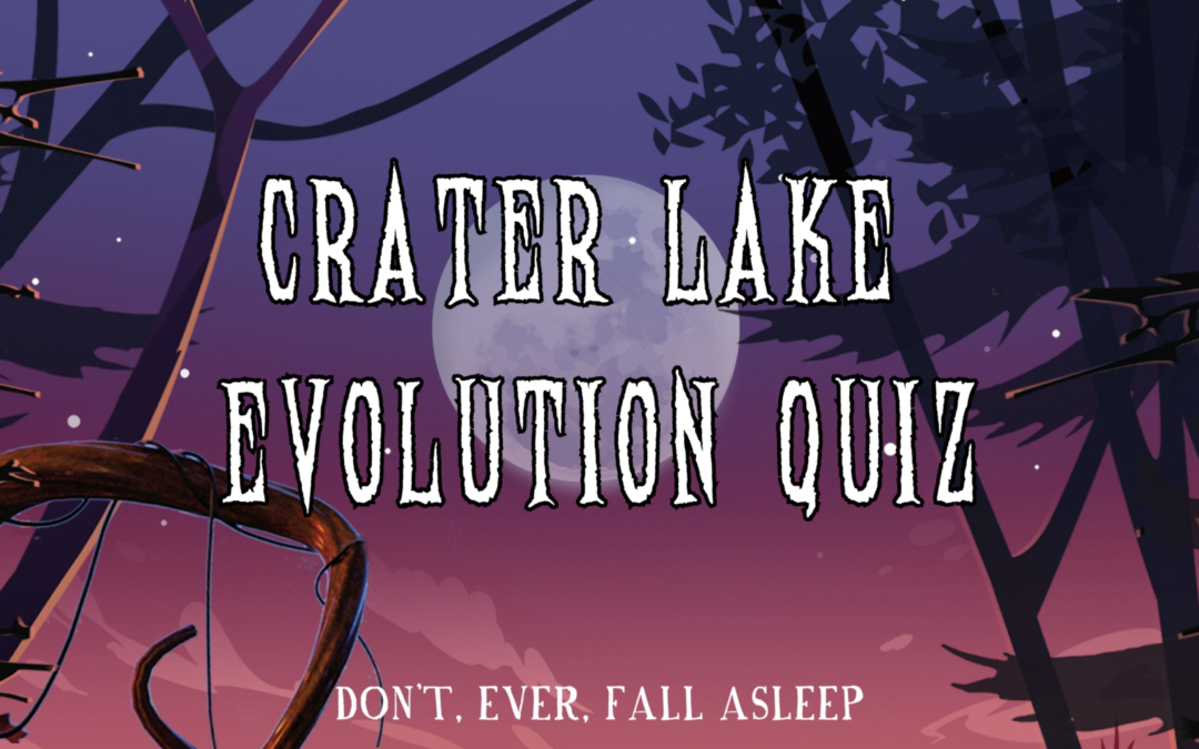 Crater Lake Evolution – Quiz Answers