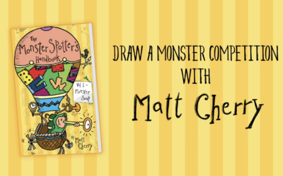 Draw A Monster Competition – with Matt Cherry
