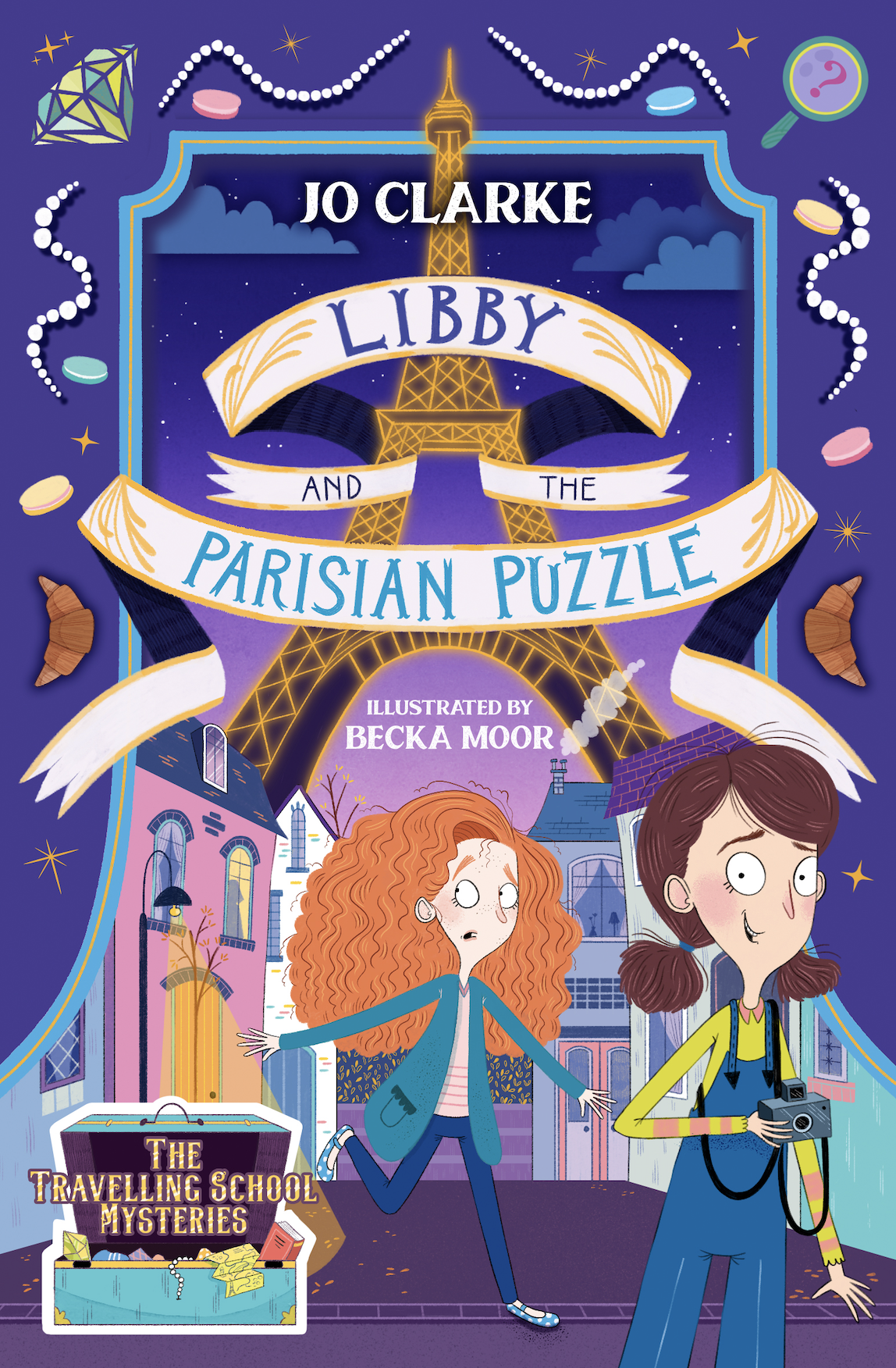 Libby and the Parisian Puzzle Cover Image